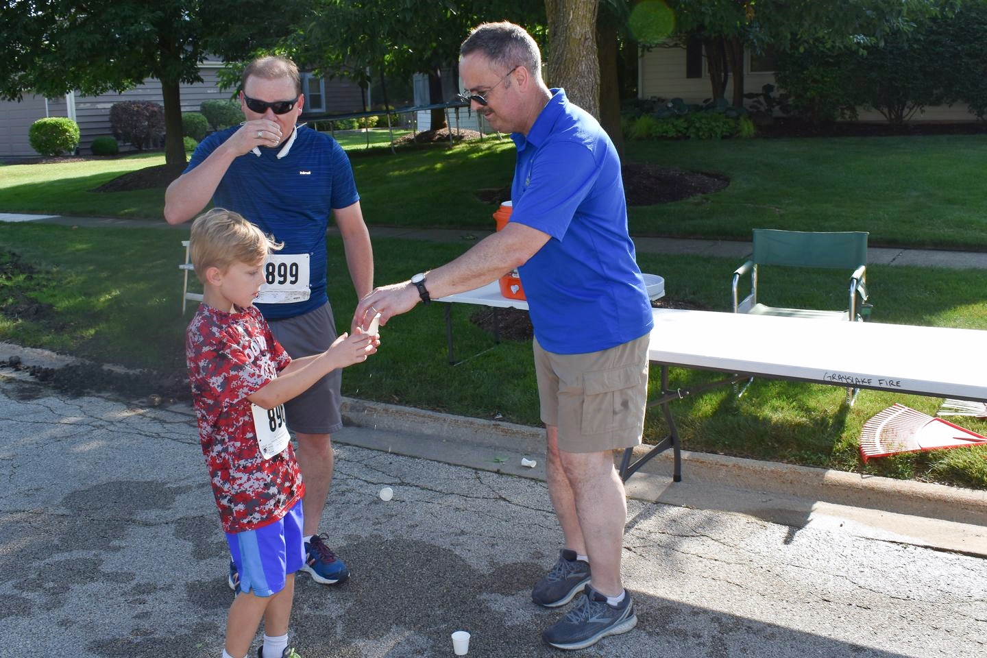 It was great to see many families enjoying the Grayslake 5K